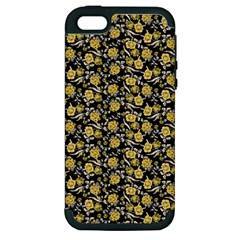 Roses pattern Apple iPhone 5 Hardshell Case (PC+Silicone)