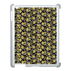 Roses pattern Apple iPad 3/4 Case (White)