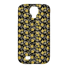 Roses pattern Samsung Galaxy S4 Classic Hardshell Case (PC+Silicone)