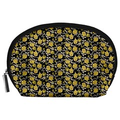 Roses pattern Accessory Pouches (Large)