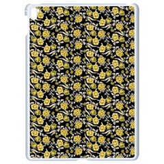 Roses pattern Apple iPad Pro 9.7   White Seamless Case