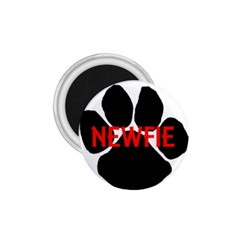 Newfie Name Paw 1.75  Magnets