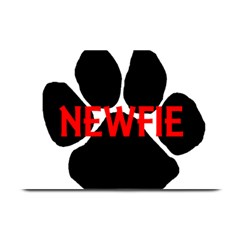 Newfie Name Paw Plate Mats