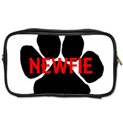 Newfie Name Paw Toiletries Bags 2-Side