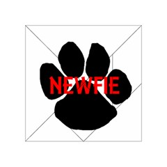Newfie Name Paw Acrylic Tangram Puzzle (4  x 4 )