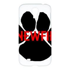 Newfie Name Paw Samsung Galaxy S4 I9500/I9505 Hardshell Case