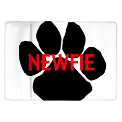 Newfie Name Paw Samsung Galaxy Tab 10.1  P7500 Flip Case
