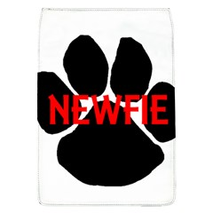 Newfie Name Paw Flap Covers (L)