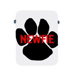 Newfie Name Paw Apple iPad 2/3/4 Protective Soft Cases
