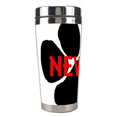 Newfie Name Paw Stainless Steel Travel Tumblers