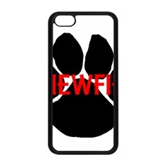 Newfie Name Paw Apple iPhone 5C Seamless Case (Black)