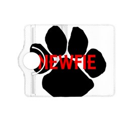 Newfie Name Paw Kindle Fire HD (2013) Flip 360 Case