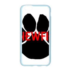 Newfie Name Paw Apple Seamless iPhone 6/6S Case (Color)