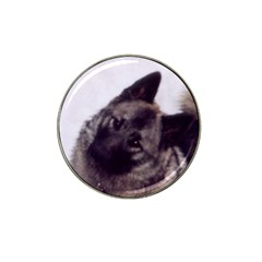 Norwegian Elkhound Hat Clip Ball Marker