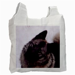 Norwegian Elkhound Recycle Bag (Two Side)