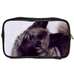Norwegian Elkhound Toiletries Bags