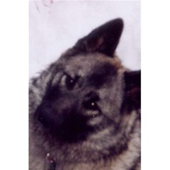 Norwegian Elkhound 5.5  x 8.5  Notebooks