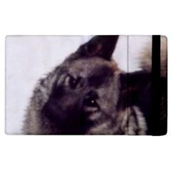 Norwegian Elkhound Apple iPad 2 Flip Case