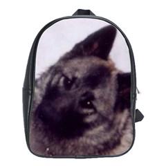 Norwegian Elkhound School Bags (XL)