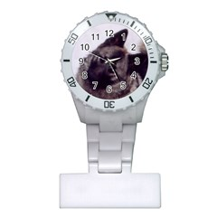 Norwegian Elkhound Plastic Nurses Watch