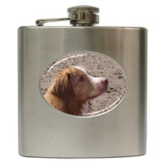 Nova Scotia Duck Tolling Retriever Hip Flask (6 oz)