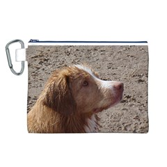 Nova Scotia Duck Tolling Retriever Canvas Cosmetic Bag (L)