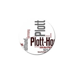 Plott Mashup Golf Ball Marker (10 pack)
