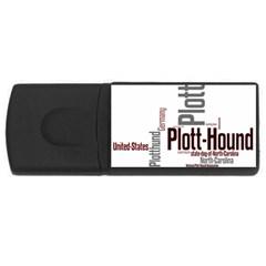 Plott Mashup USB Flash Drive Rectangular (1 GB)