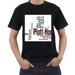 Plott Mashup Men s T-Shirt (Black) (Two Sided)