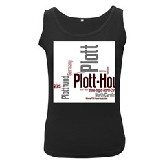 Plott Mashup Women s Black Tank Top