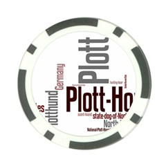Plott Mashup Poker Chip Card Guard