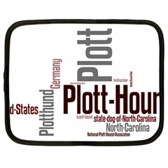 Plott Mashup Netbook Case (Large)