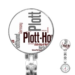 Plott Mashup Stainless Steel Nurses Watch