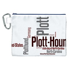 Plott Mashup Canvas Cosmetic Bag (XXL)