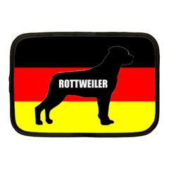 Rottweiler Name Silo On Flag Netbook Case (Medium)