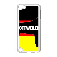 Rottweiler Name Silo On Flag Apple iPod Touch 5 Case (White)