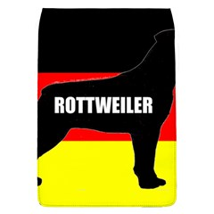 Rottweiler Name Silo On Flag Flap Covers (L)