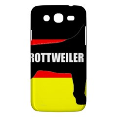 Rottweiler Name Silo On Flag Samsung Galaxy Mega 5.8 I9152 Hardshell Case
