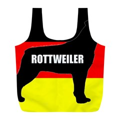 Rottweiler Name Silo On Flag Full Print Recycle Bags (L)