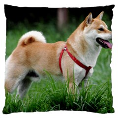 Shiba 2 Full Standard Flano Cushion Case (Two Sides)