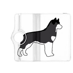 Siberian Husky Silo Color Kindle Fire HDX 8.9  Flip 360 Case