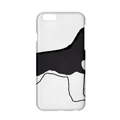 Siberian Husky Silo Color Apple iPhone 6/6S Hardshell Case