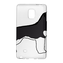 Siberian Husky Silo Color Galaxy Note Edge