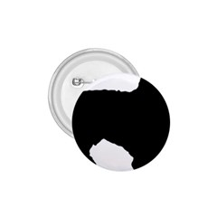 Spanish Water Dog Silhouette 1.75  Buttons