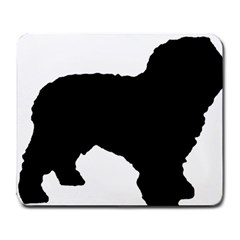 Spanish Water Dog Silhouette Large Mousepads