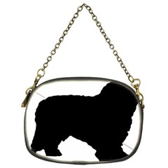 Spanish Water Dog Silhouette Chain Purses (One Side)