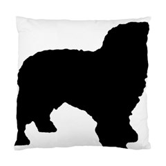 Spanish Water Dog Silhouette Standard Cushion Case (Two Sides)