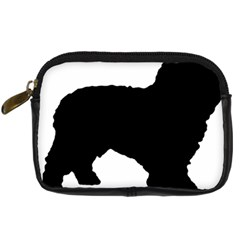 Spanish Water Dog Silhouette Digital Camera Cases