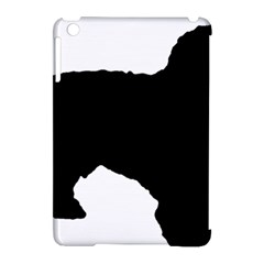 Spanish Water Dog Silhouette Apple iPad Mini Hardshell Case (Compatible with Smart Cover)