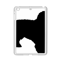 Spanish Water Dog Silhouette iPad Mini 2 Enamel Coated Cases